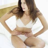 How to cause a menstrual period?